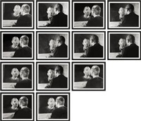 der fleck auf dem spiegel, den der atemhauch schafft (the spot on the mirror, created by breath) (13 works) by dieter appelt