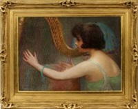 the harp player by carl nys