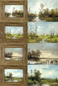 die vier jahreszeiten (4 works) by ludwig frey