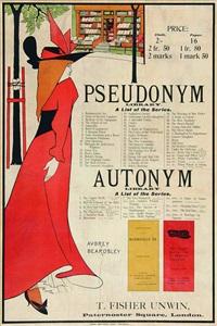 pseudonym - autonym by aubrey vincent beardsley