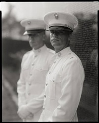 untitled from portraits at the vietnam veterans memorial, washington d.c. by judith joy ross
