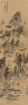 landscape by qi minglei