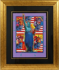liberty & liberty by peter max