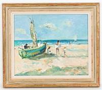 au bord de la mer by michael d' aguilar