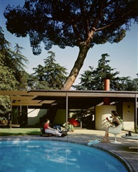 case study house # 20 by julius shulman