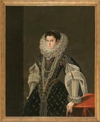 retrato femenino by bartolomé gonzalez