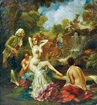 bathers by eduard ansen-hofmann