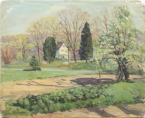 new england spring by colin campbell cooper