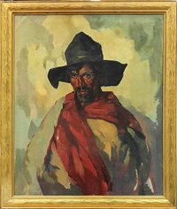 taos sheep herder by hans paap