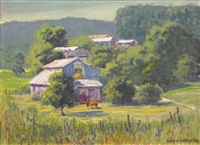 northern california farm by lloyd j. mitchell