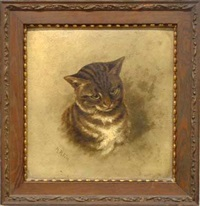 tiger-striped tabby by henrietta riddell fish