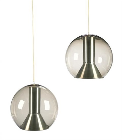 hanging lamps pair by raak