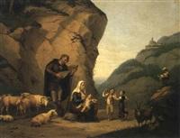 berglandschaft by frédéric fregevize