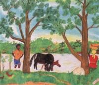 la rivière rouge by sénèque obin