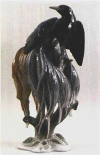 paradiesvogel by fritz heidenreich