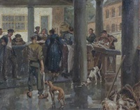 bruges fish market by vernon ward