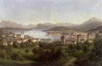 vedute von luzern by monogrammist a.b.