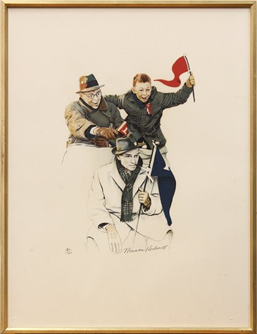 school days 4 works by norman rockwell