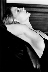 jodie foster, hollywood by helmut newton