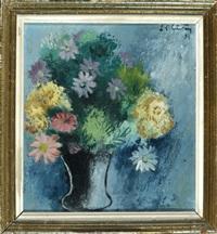 bunter blumenstrauß in vase by ferdinand carl cürten