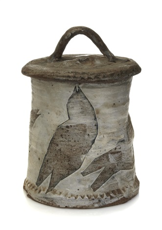 covered ice bucket by peter voulkos