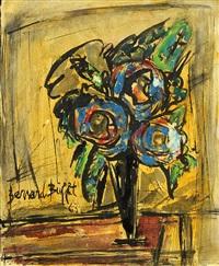 vase des fleurs by bernard buffet