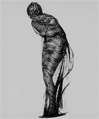 gianfranco ferre. silk scarf by albert watson