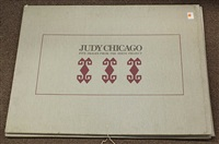 five images from the birth project by judy chicago
