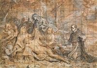 kristi begråtande by abraham van diepenbeeck