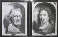janus lutma, the elder, & selfportrait by johannes lutma the younger