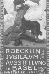 boecklin jubilaeum ausstellung in basel by hans sandreuter