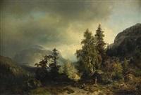 landskap, düsseldorf by sophus jacobsen