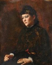 portrait of a lady by percival de luce