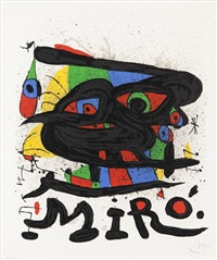 miro sculptures (sold with 242b; set of 2) by joan miró