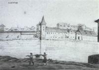 skizzenbuch mit architektonischen studien by karl ludwig von zanth