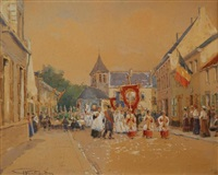 procession by françois verheyden
