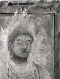 head of buddha, 1985 by tom wudl