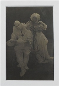 nijinsky and karsavina in costume by adolph de meyer