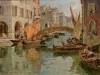 canal vene, chioggia - venezia by angelo brombo