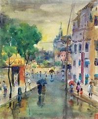 春雨 by liang xihong
