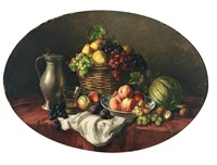 früchtestilleben by friedrich van den daele the elder