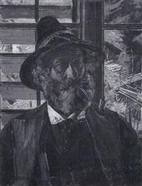 porträt eines südtiroler bauern by ernst henseler