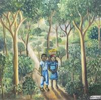 walk through the jungle by wilson bigaud