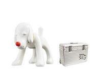 狗仔收音机×rimowa旅行箱 限量盒套装 abs、pc塑料、 by yoshitomo nara