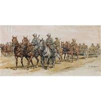 kavallerie by edouard elzingre