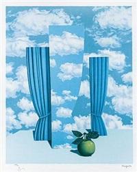 上层社会 by rené magritte