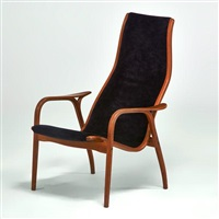 lounge chair by yngve ekstrom