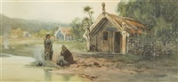a native settlement by william joseph wadham