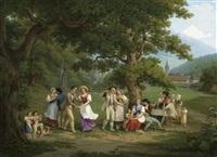 ländliche festgesellschaft by frédéric fregevize