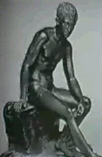 hermes resting by g(iovanni) varlese